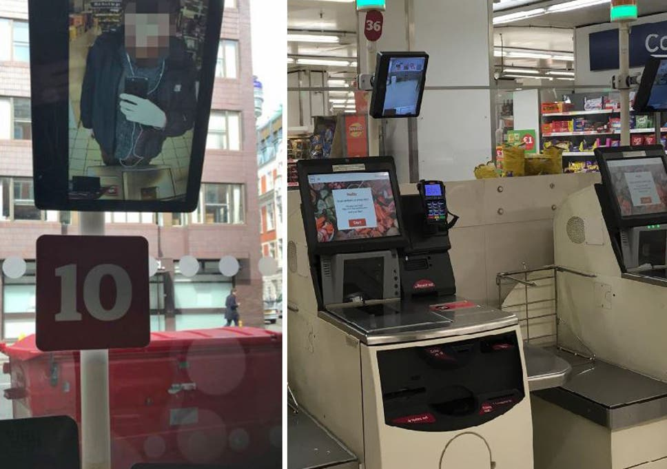 Sainsbury's customers voice concern over 'creepy' CCTV screens