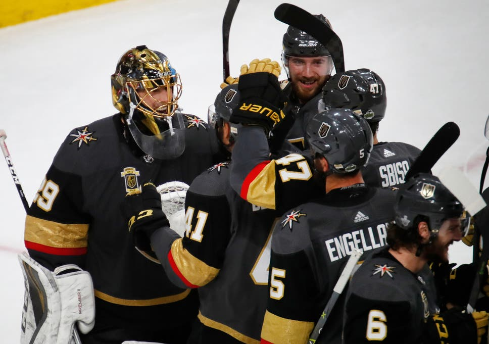 420558b28a0 The fairy tale continues  Vegas Golden Knights now just one win away from  coveted Stanley Cup final berth