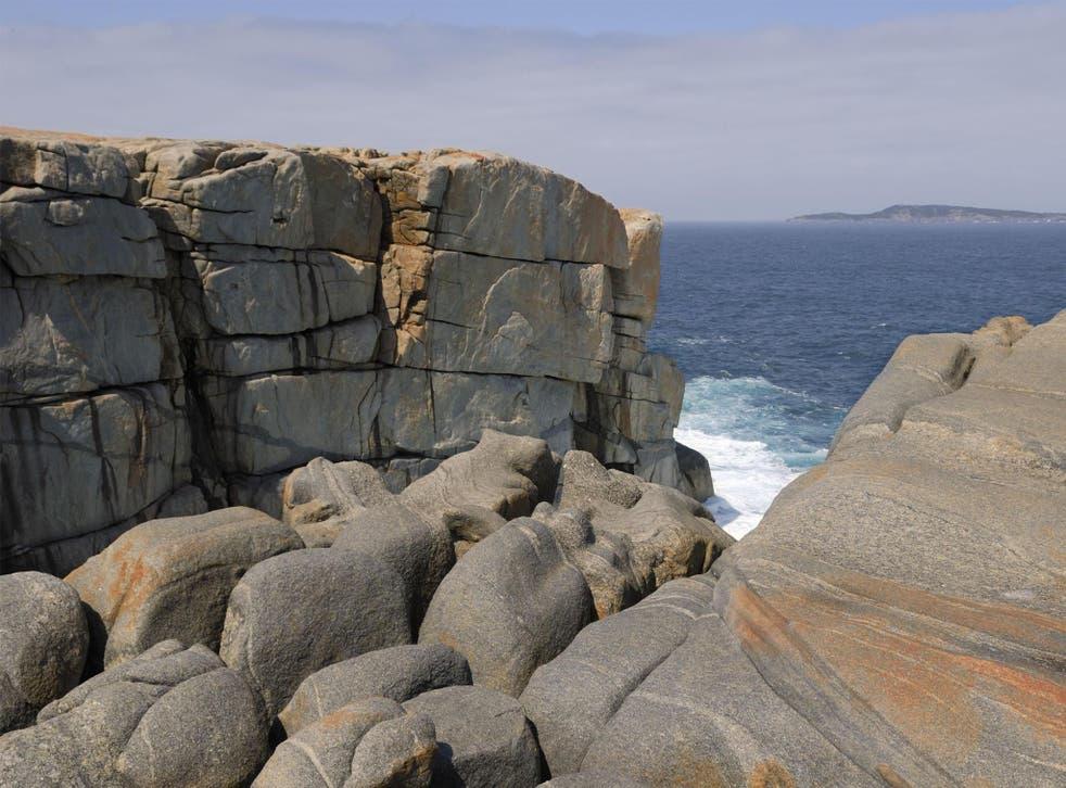 The Gap on the Flinders Peninsula near Albany in Western Australia