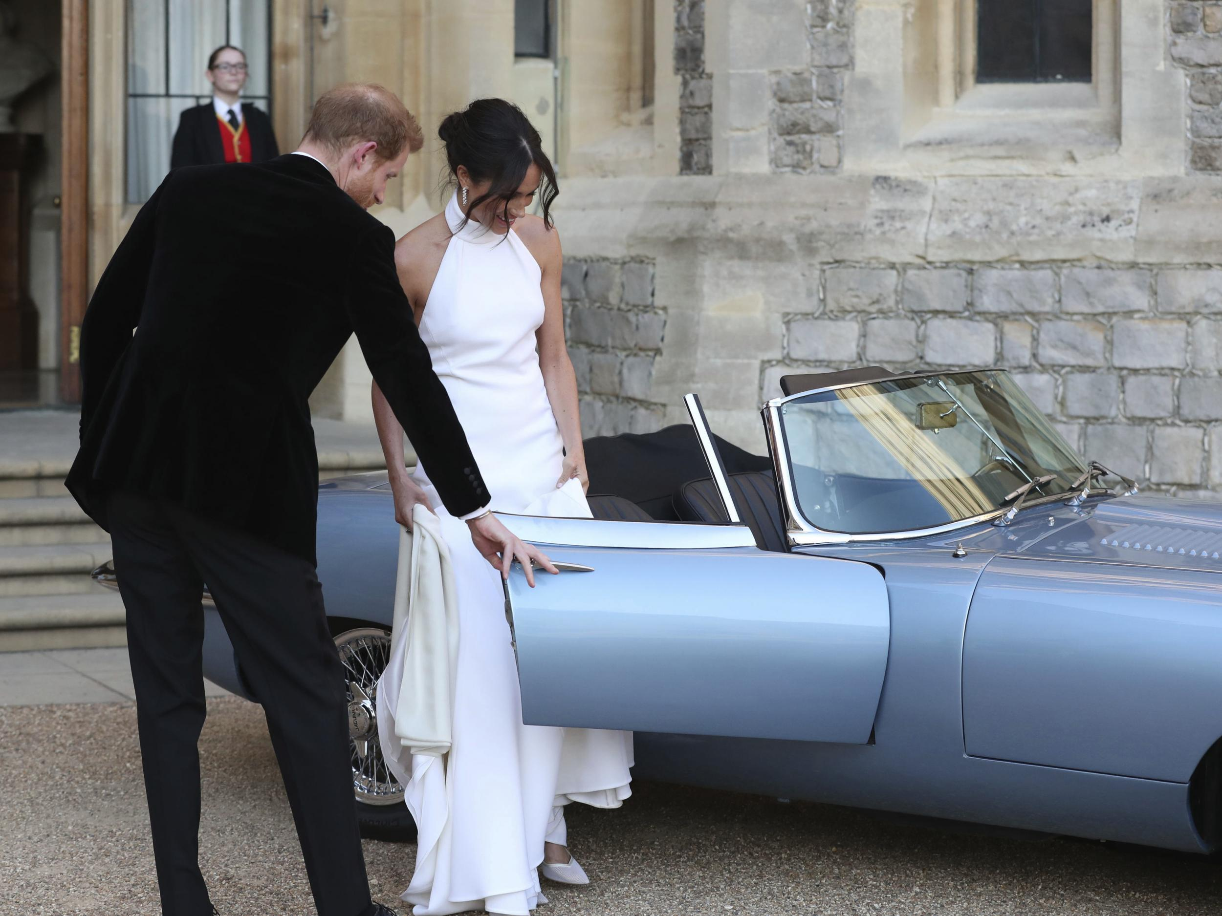 royal wedding: the one-of-a kind electric jaguar harry and meghan
