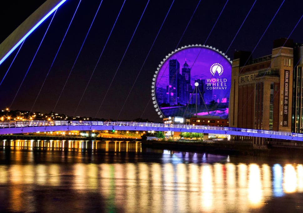 newcastle to beat london with europe s tallest observation wheel