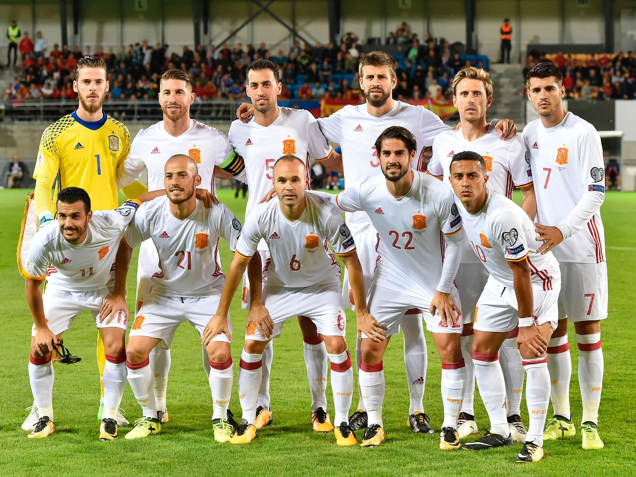 Spain World Cup Squad Guide Full Fixtures Group Ones To