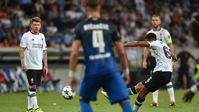First leg: Hoffenheim 1-2 Liverpool (Uth 87; Alexander-Arnold 35, Nordtveit 74og)