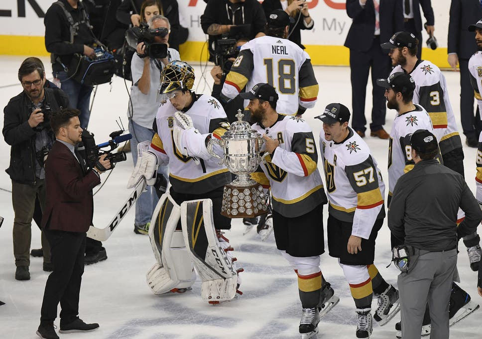 wholesale dealer f9fa2 77f62 Las Vegas Golden Knights are making Stanley Cup history in ...