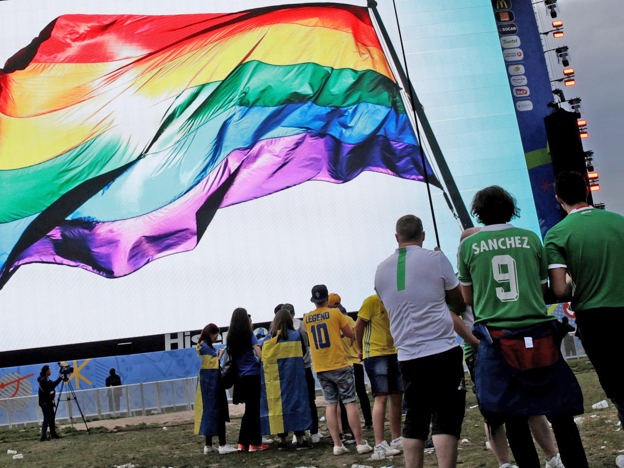 footballer gay news world