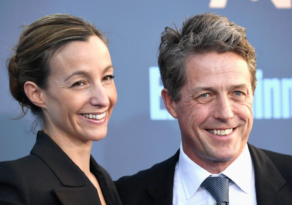 hugh grant to marry tv producer anna eberstein the independent