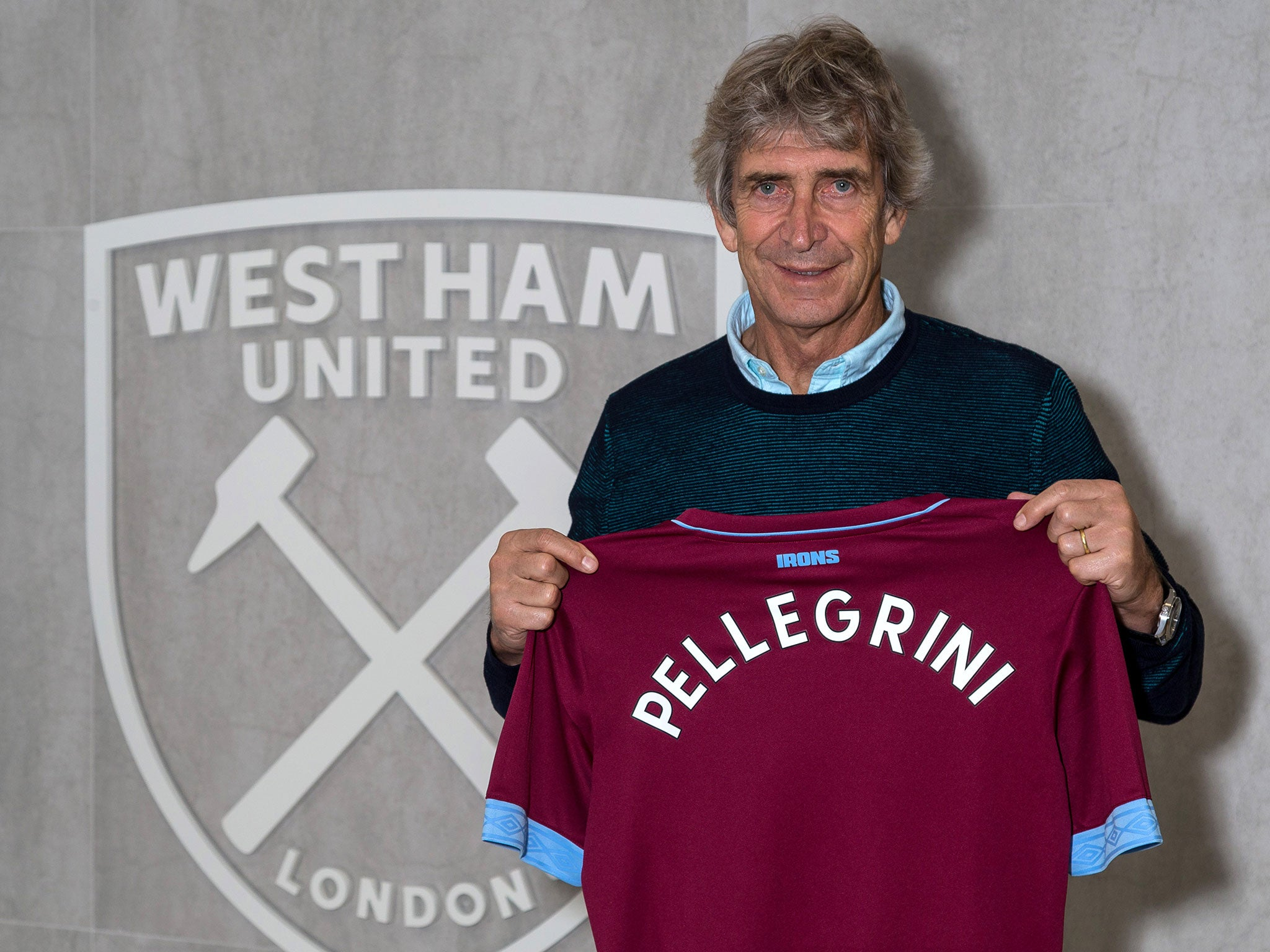 Manuel Pellegrini Named New West Ham Manager On 163 10m Per Year Salary The Independent