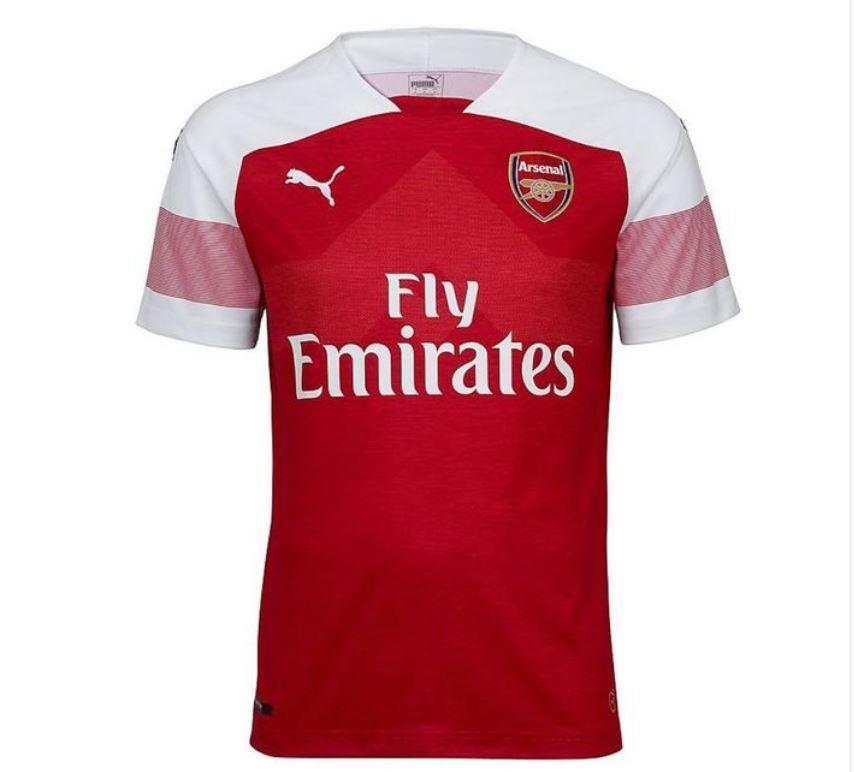 9a9d1f8e098 Arsenal unveil new home kit for 2018 19 season