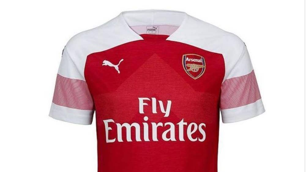 Arsenal unveil new home kit for 2018 19 season  800c581c1