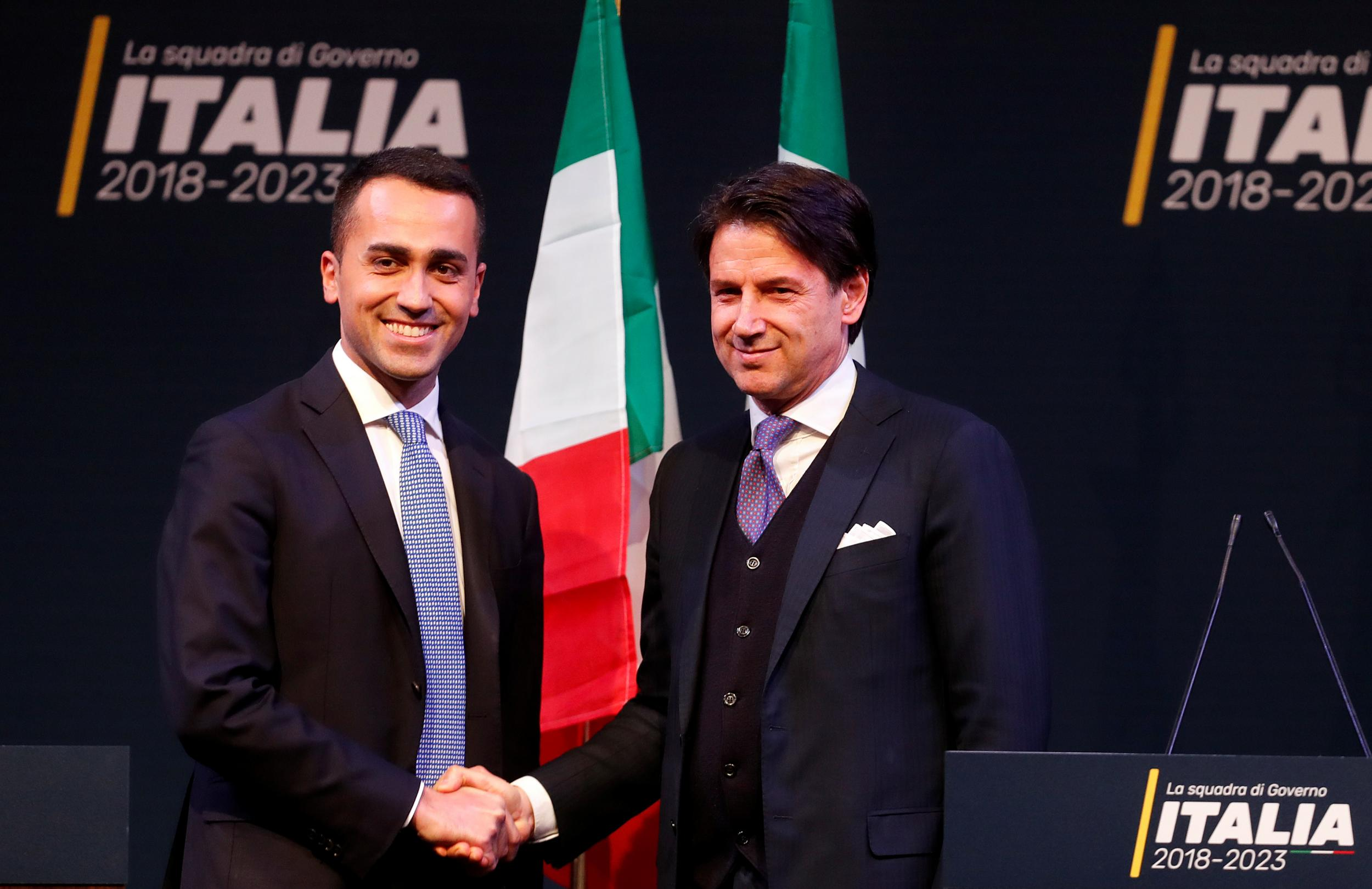 Italy's would-be populist prime minister faces difficult questions about accuracy of his CV