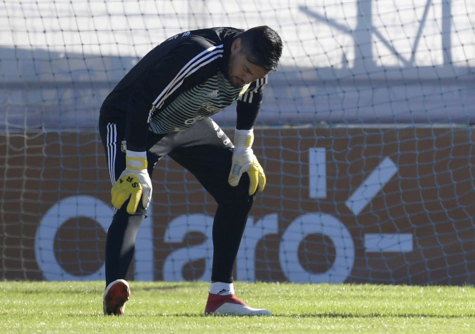 bdee2da1f5f World Cup 2018  Manchester United goalkeeper Sergio Romero ruled out ...