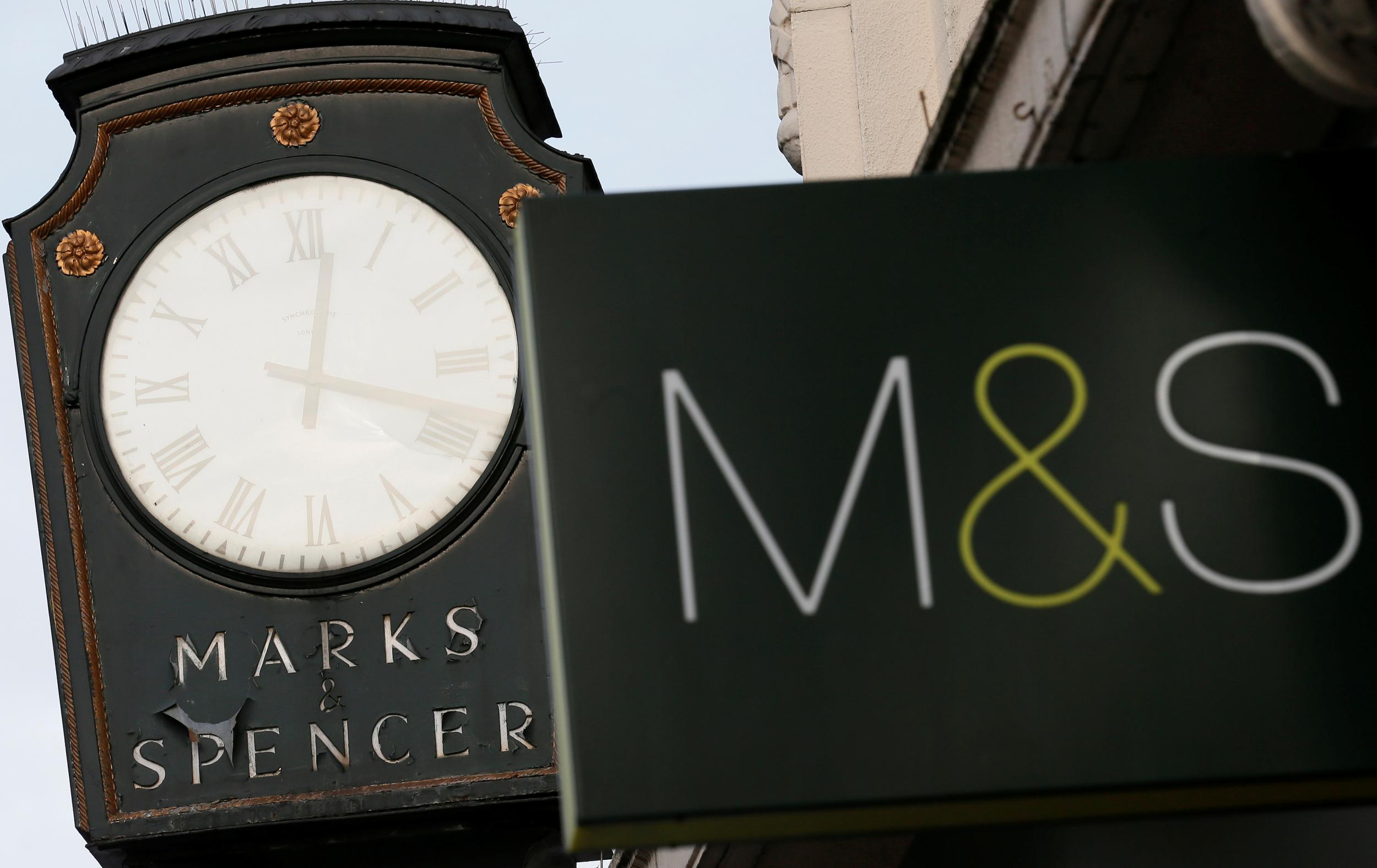 Marks & Spencer unveils 75 per cent dip in profits as it prepares to close 100 stores