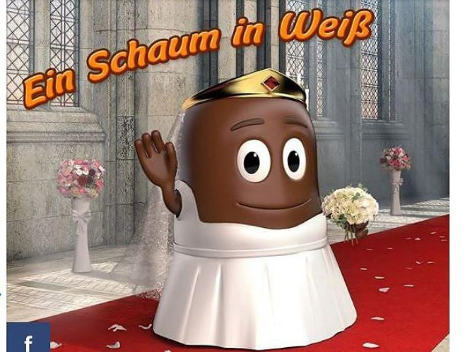 German company apologises for 'racist' image of chocolate bride on Meghan Markle's wedding day