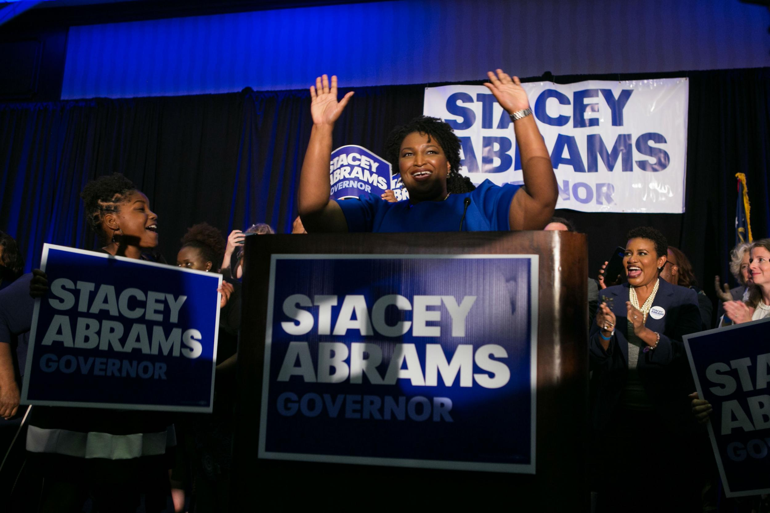 History made as Democrats choose first black woman and first openly lesbian governor candidates