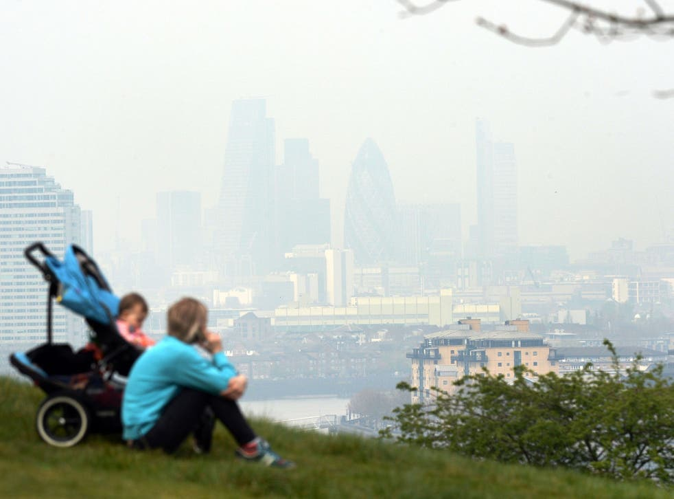 Air pollution is linked to asthma, heart disease and lung cancer