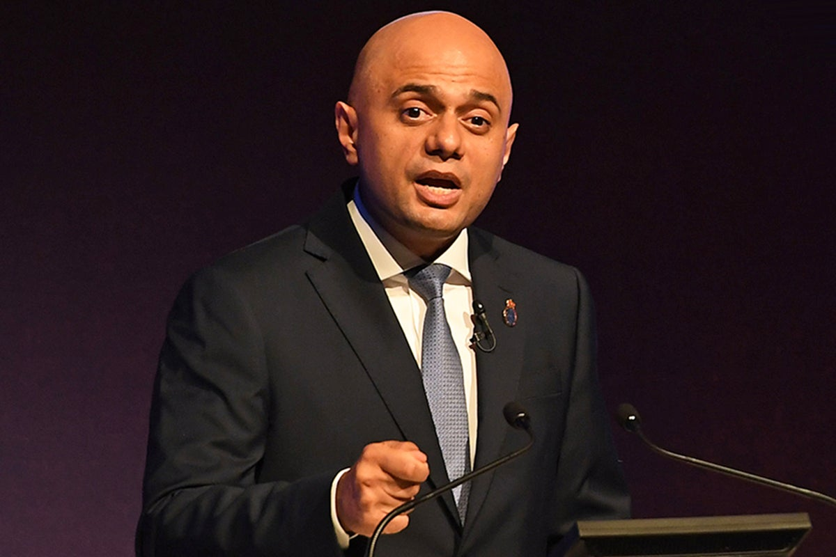 Sajid Javid calls for controversial spit hoods to be rolled out across British police forces