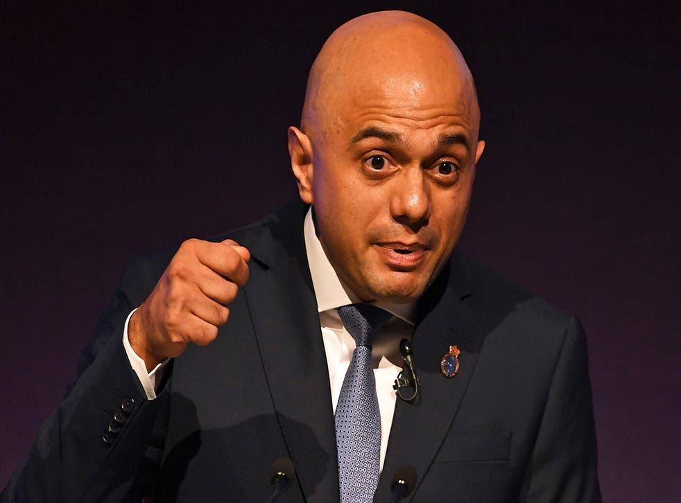 Home Secretary Sajid Javid will speak at a memorial to mark the anniversary of the London Bridge attack