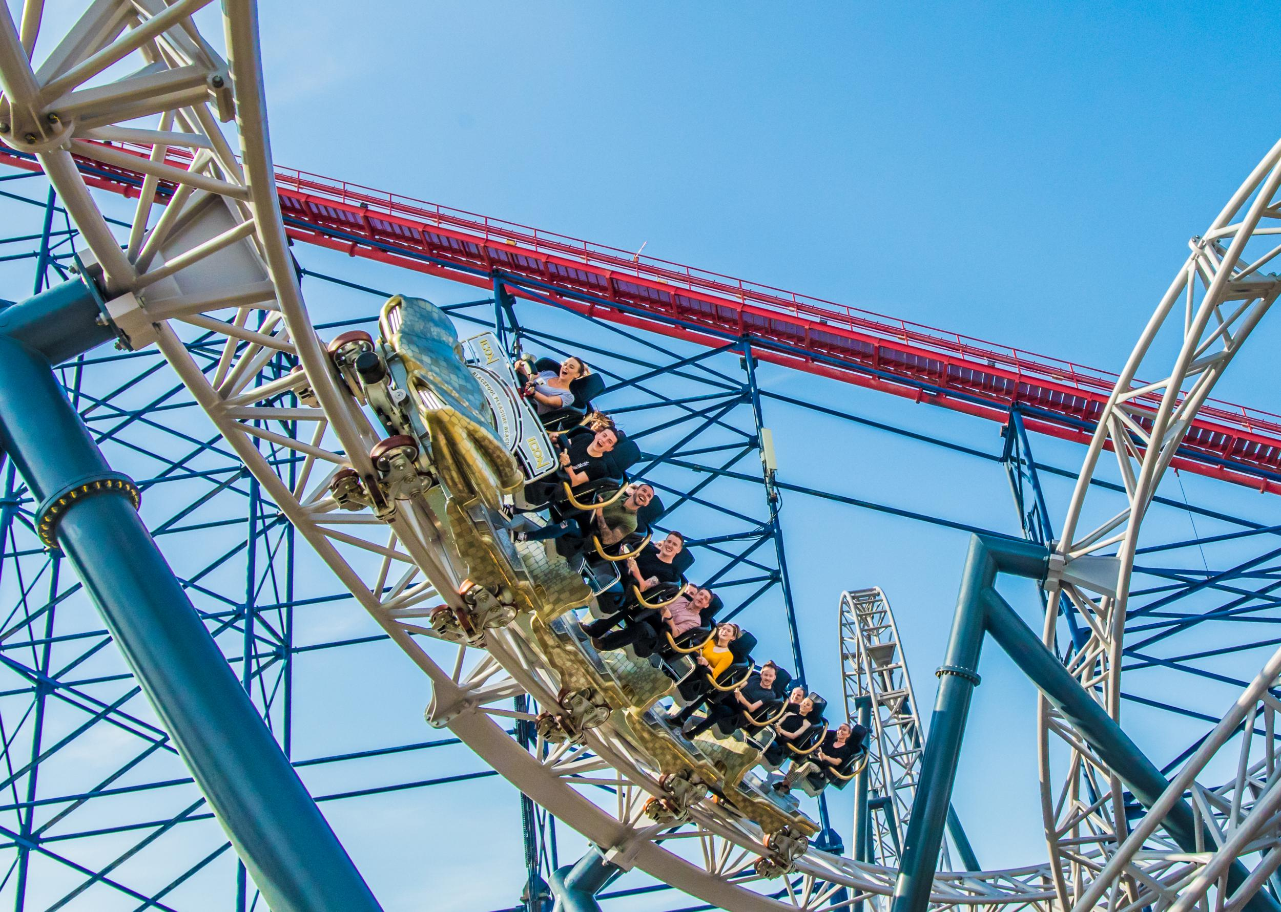Blackpool's £16m Icon rollercoaster is putting the Pleasure