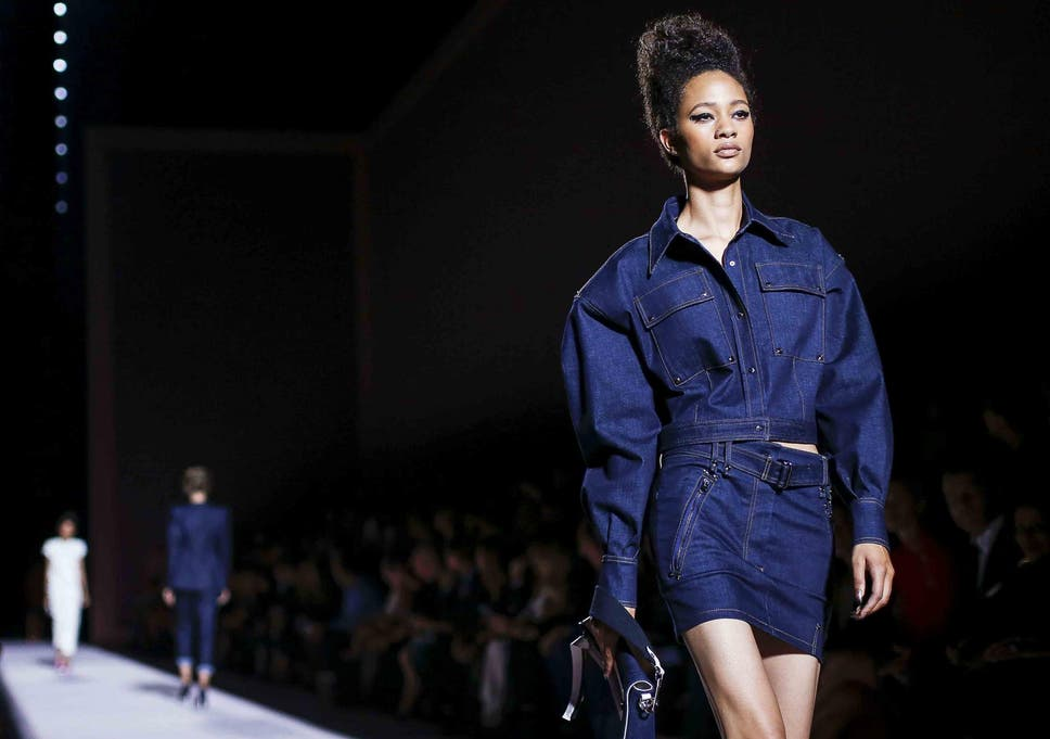 c3a11e07 In the dark: The new way to wear denim this summer | The Independent