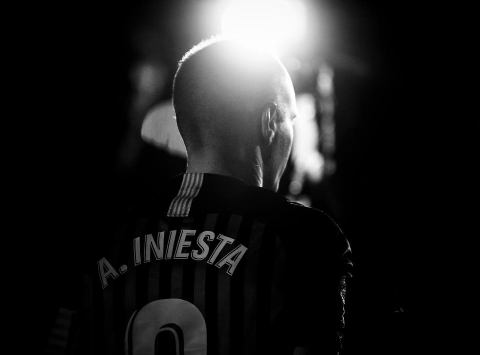 Andrés Iniesta is heading to Japan