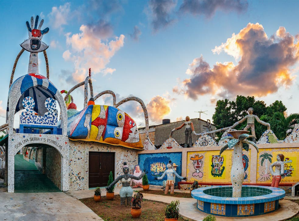 Artist and sculptor José Fuster's workshop and residence form the epicentre of what has become known as Fusterlandia
