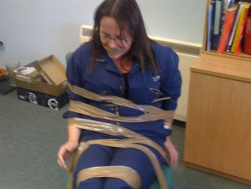 Woman 'gagged and taped to chair' by male colleagues after complaining about racism and sexism
