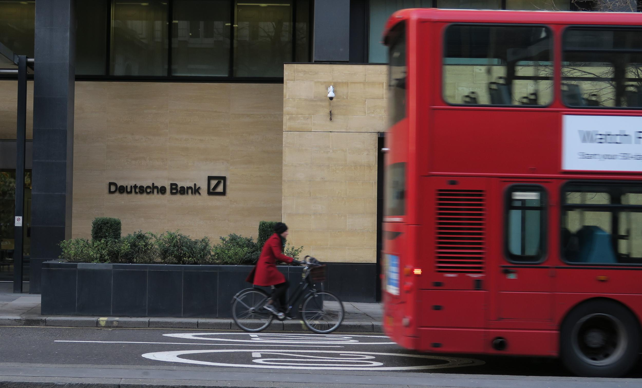 City jobs at risk as Deutsche Bank plans to cut more than 7,000 roles