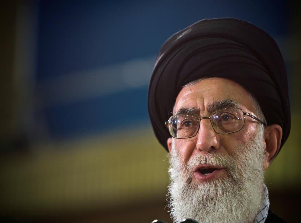 Ayatollah Ali Khamenei says the US cannot be trusted
