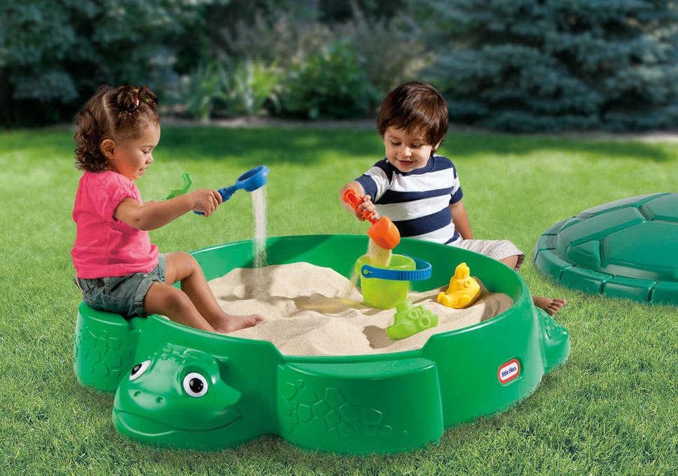 Sand play is an excellent way for children to discover new textures while  having fun f7c1eec6b499