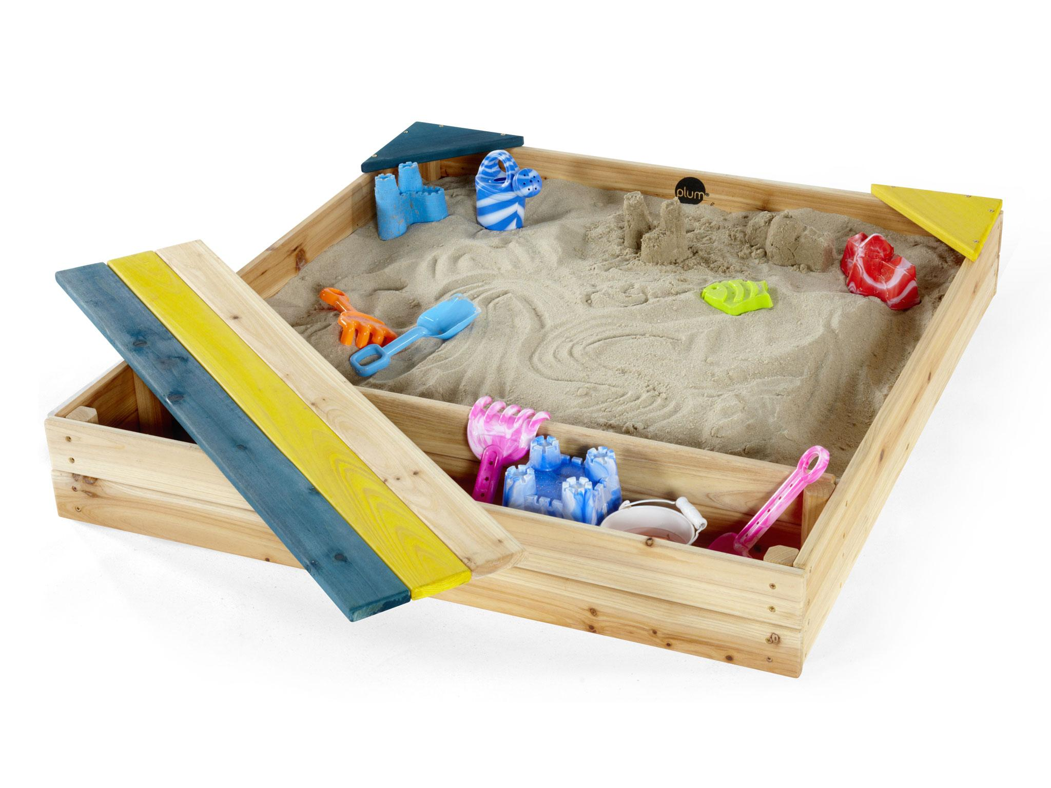 best sandpit: choose from play spaces with buckets, benches