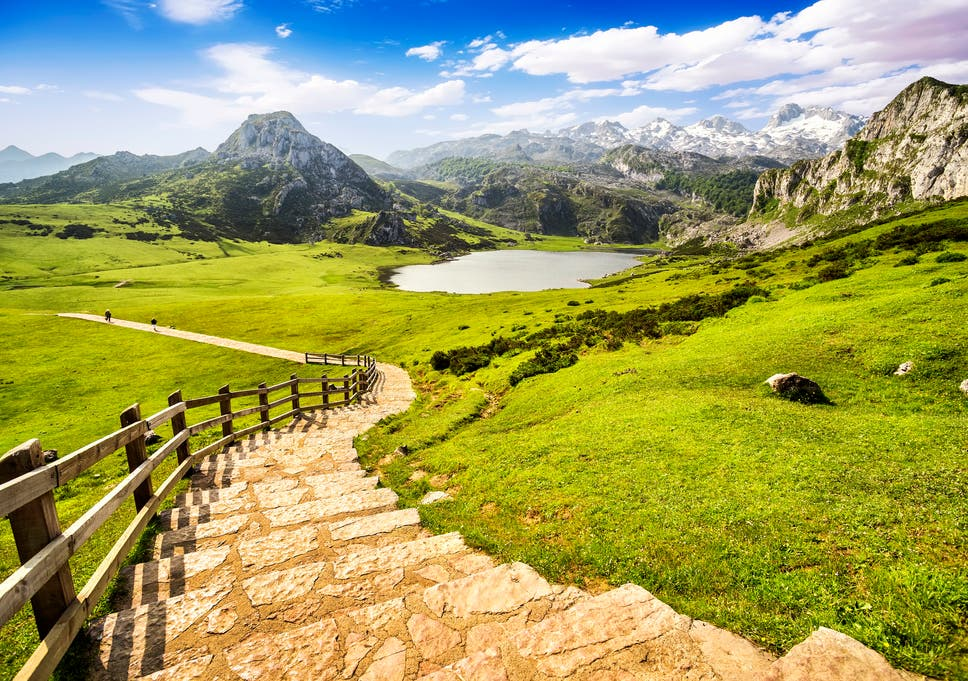 Map Of Spain With Mountains.Picos De Europa Is This Jaw Dropping Mountain Range Spain S Most