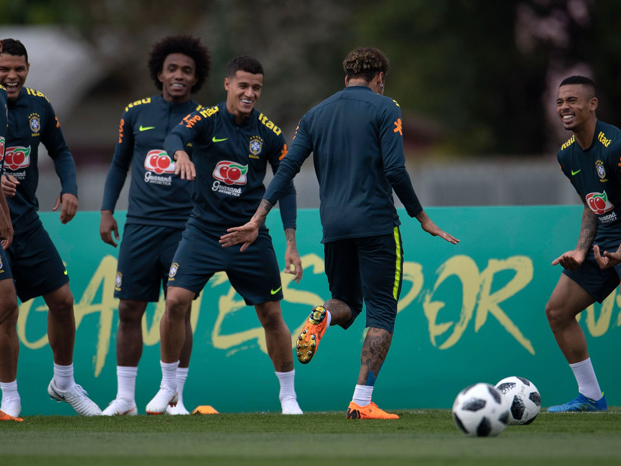 5c954ed96 World Cup 2018  Brazil in attacking shake-up as Tite experiments with  Willian