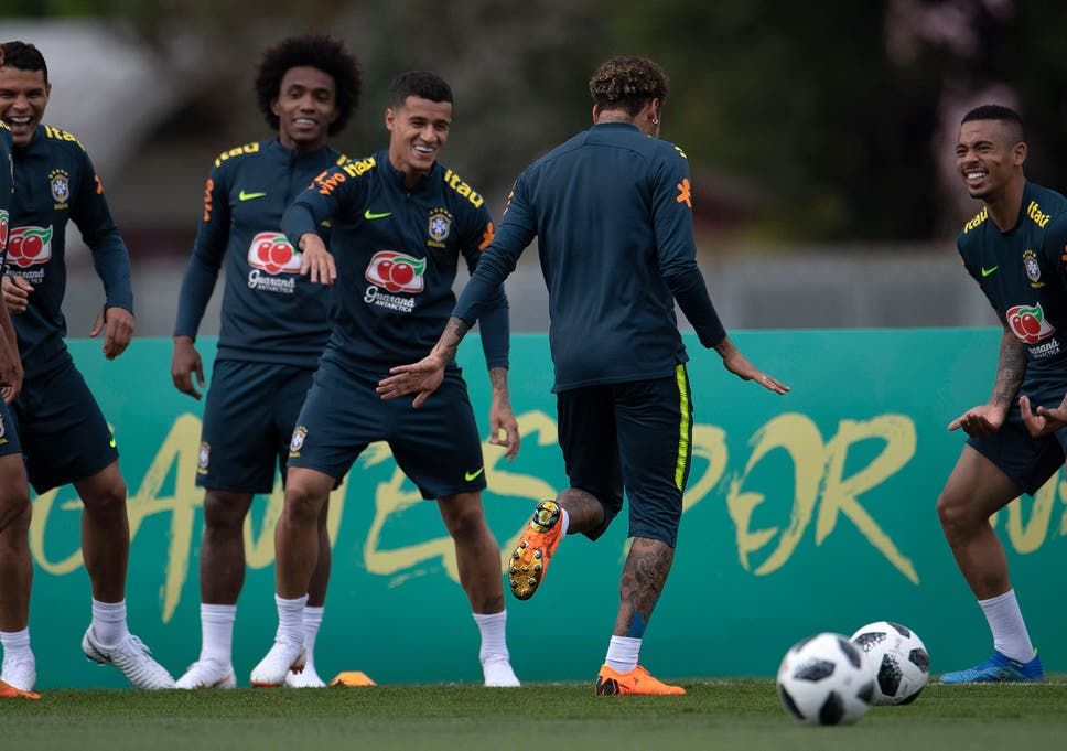 5ec748422 World Cup 2018  Brazil in attacking shake-up as Tite experiments ...