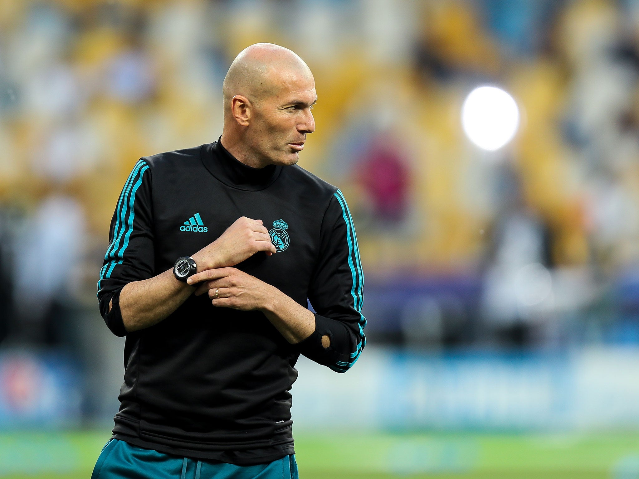 Selecting Real Madrid team for Champions League final against Liverpool will 'hurt' Zinedine Zidane