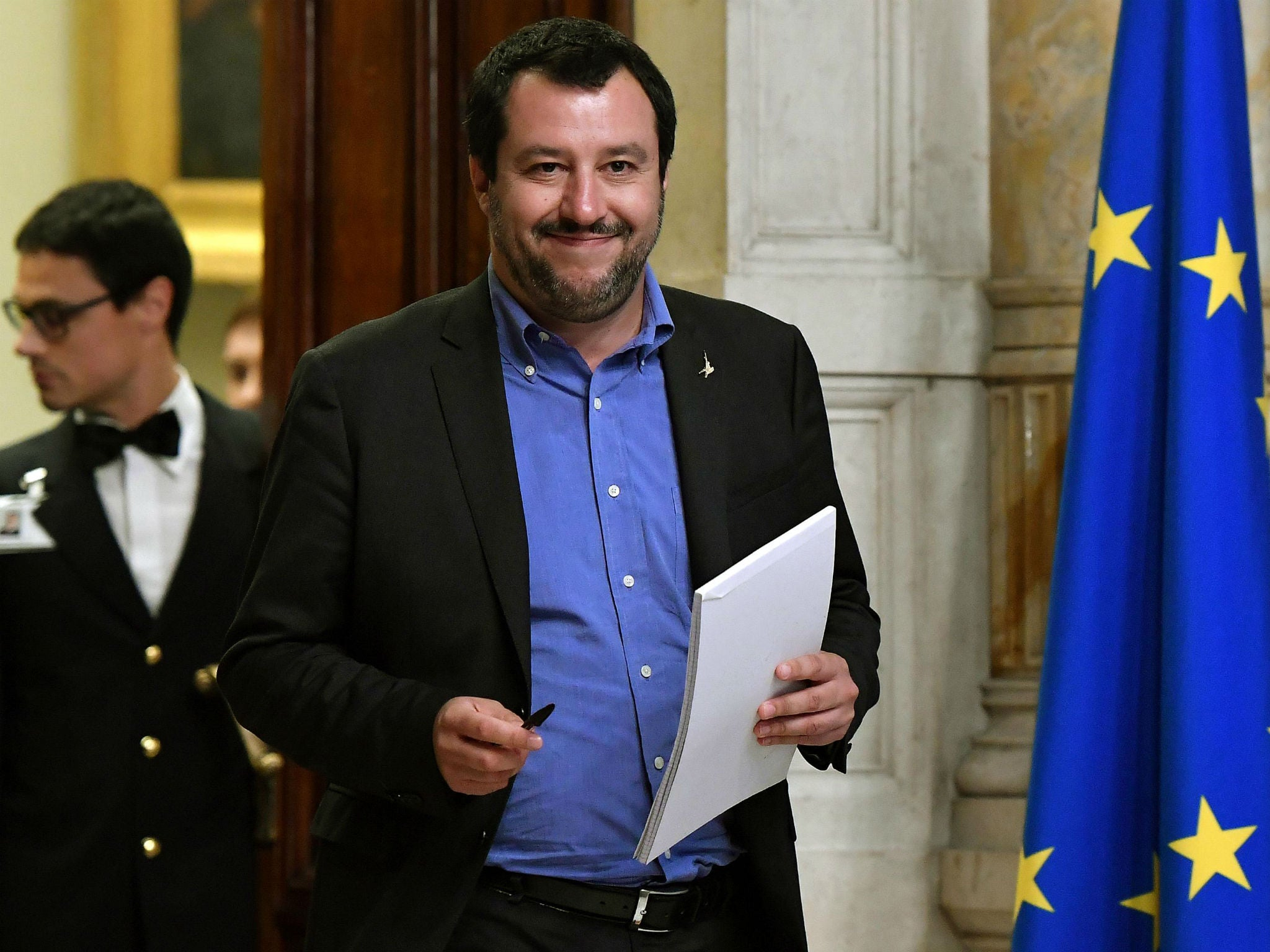 Matteo Salvini's populist League party in prime position to take advantage of new Italian elections