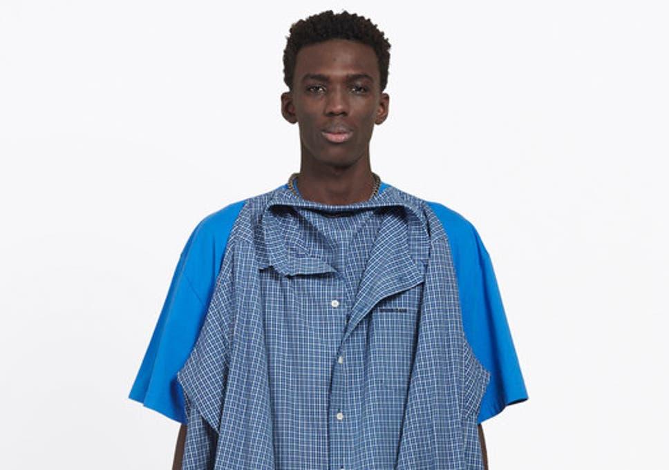 b4fcd6b3e36af Balenciaga causes confusion with  nonsense  £935  t-shirt shirt ...