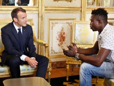 What Macron said to the Malian 'Spider-Man' was incredibly misguided