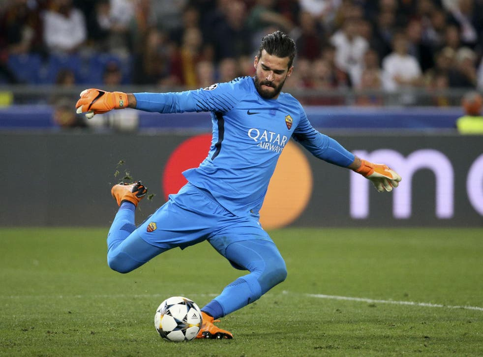 Liverpool are set to end their pursuit of Roma goalkeeper Alisson