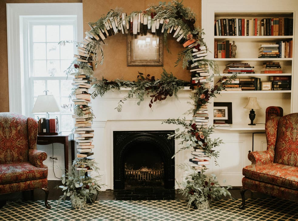 Five Creative Ways To Decorate Your Home With Books The Independent