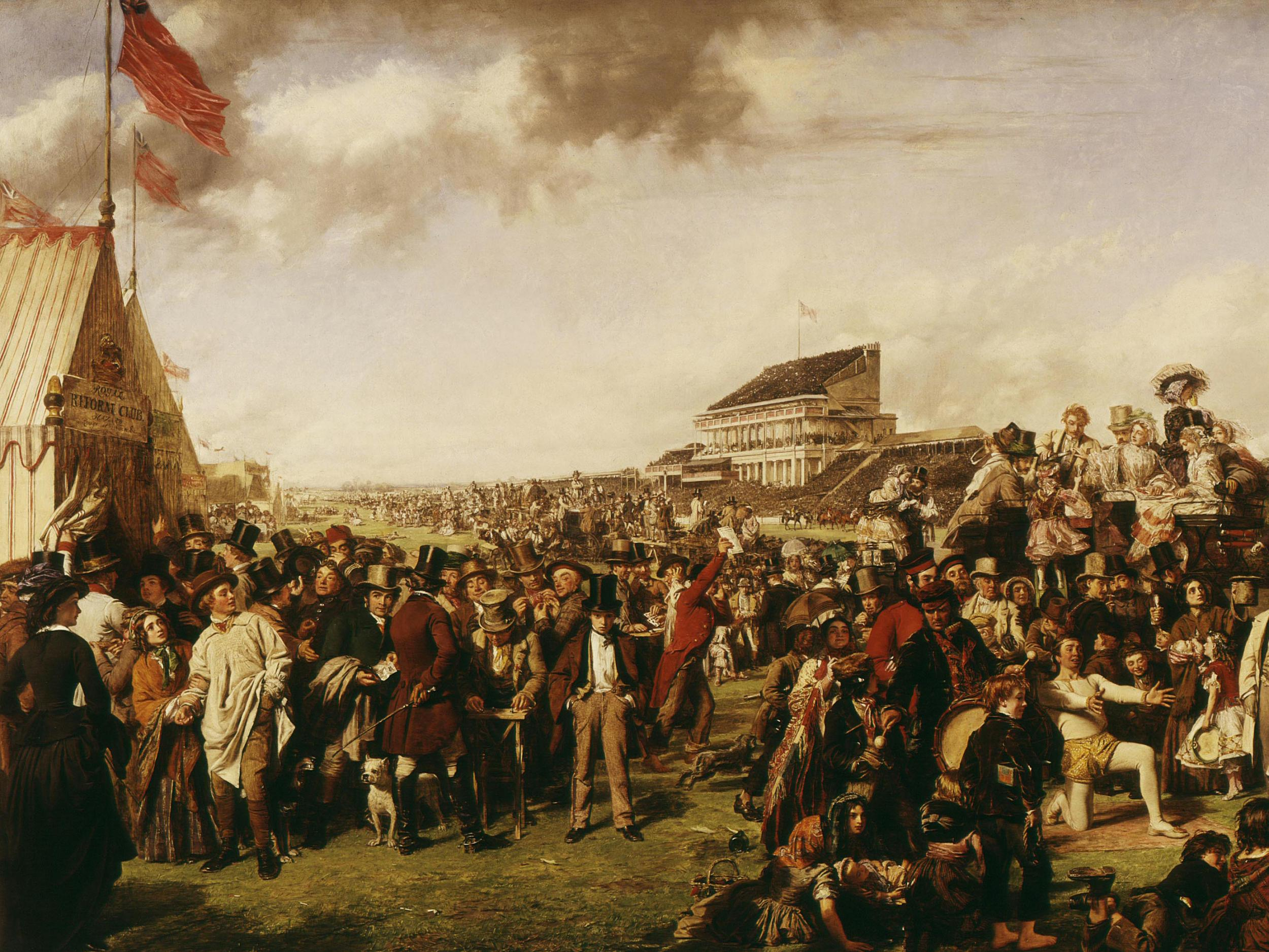 How William Powell Frith captured the spirit of the Epsom Derby