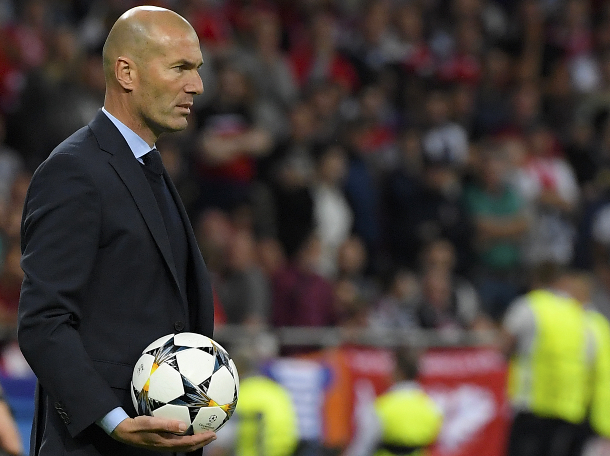 Zidane Left Real Madrid After Two And A Half Years And Has Been Out Of Work Since Getty