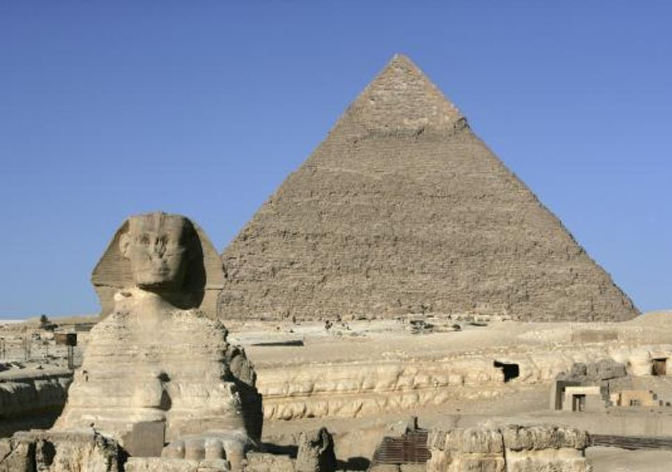 The Pyramids Of Giza Are Near A Pizza Hut And Other Sites