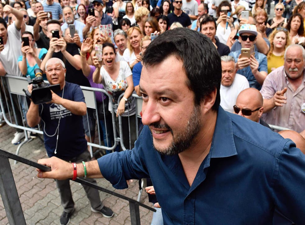 Without providing evidence, interior minister Matteo Salvini has said vaccinations can be dangerous