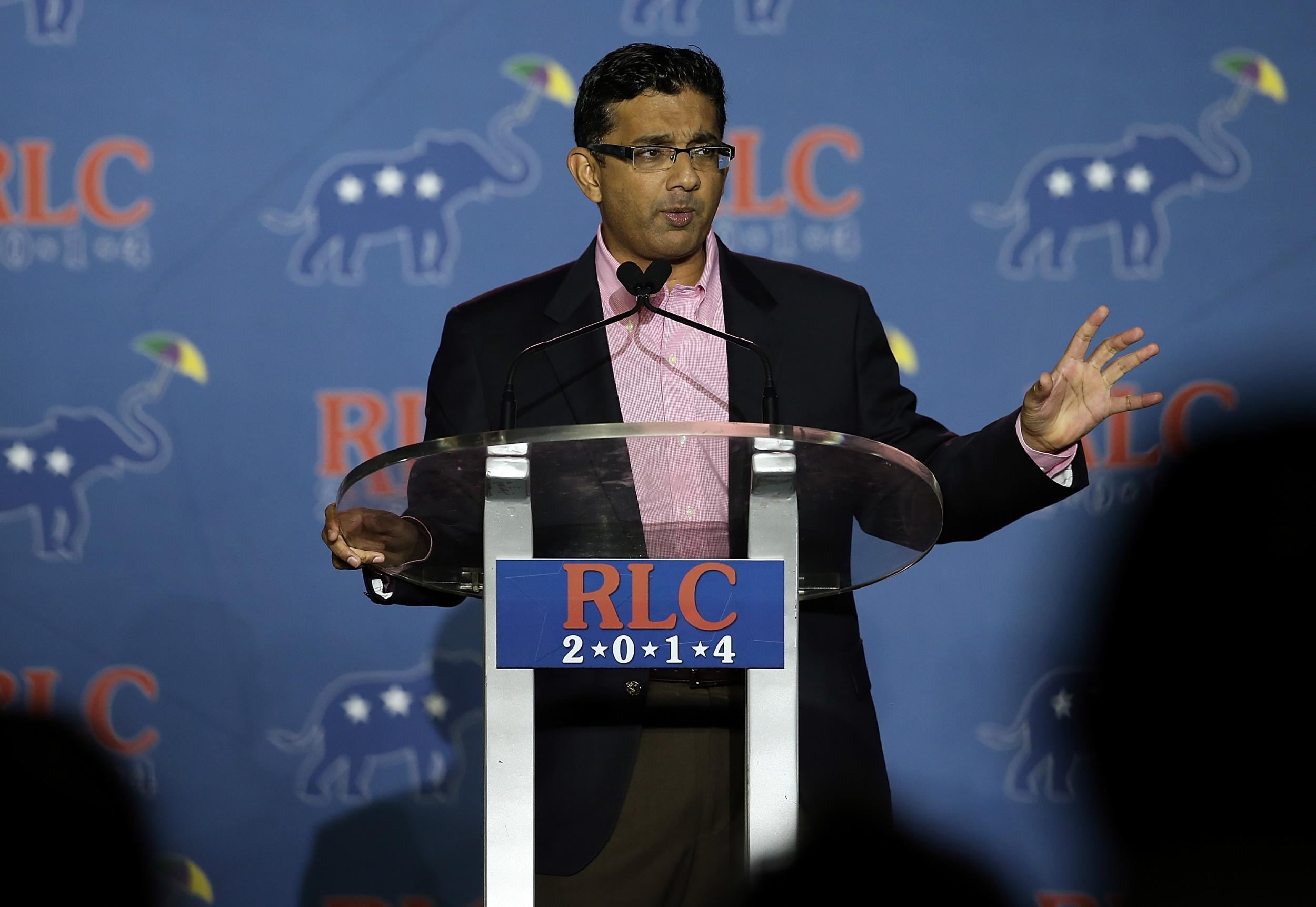 Dinesh D'Souza: Trump 'will give full pardon' to right-wing theorist for campaign finance violations