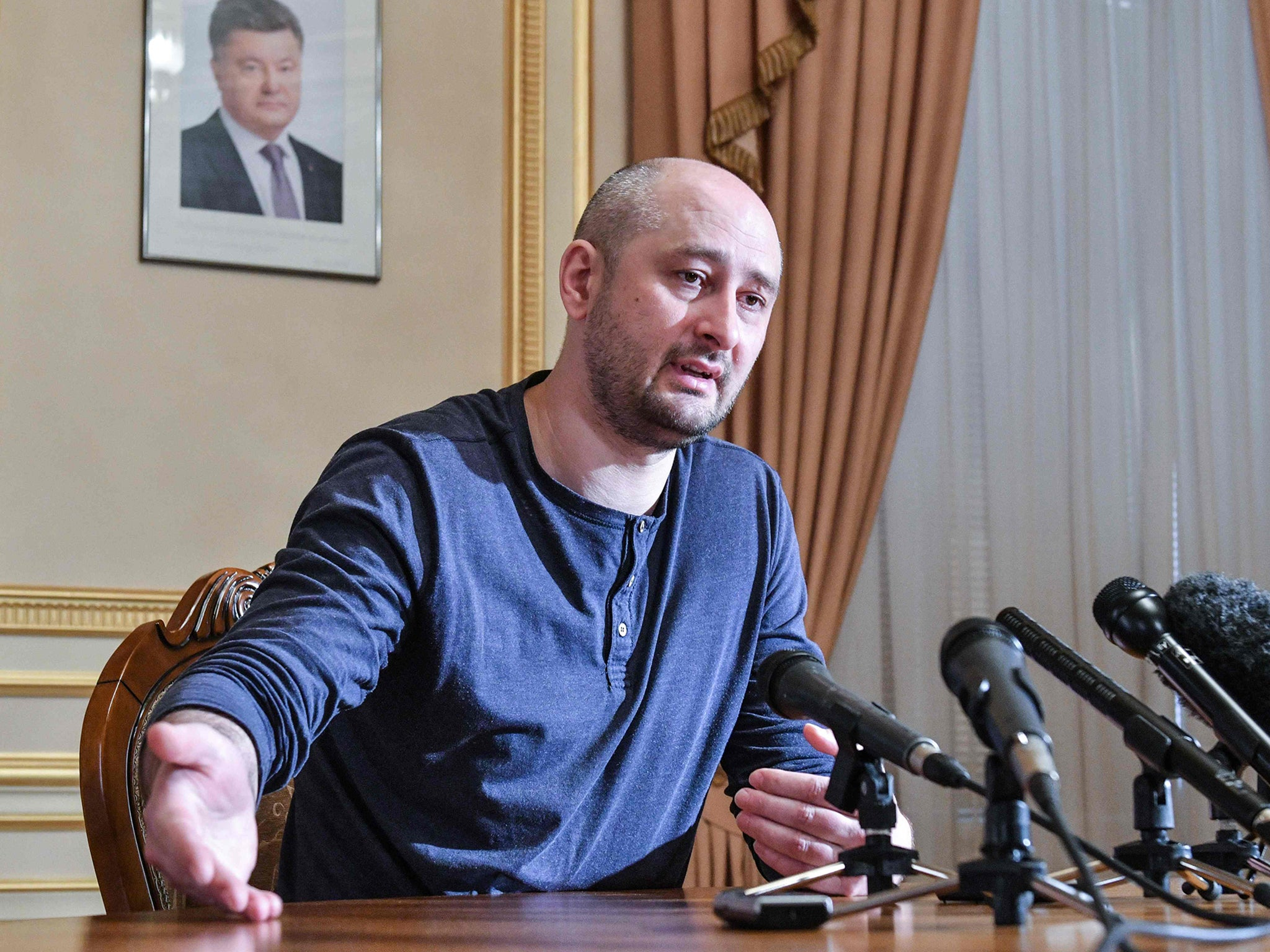 Faked murder of Putin critic uncovers Russian hit list of 47 people, Ukraine claims