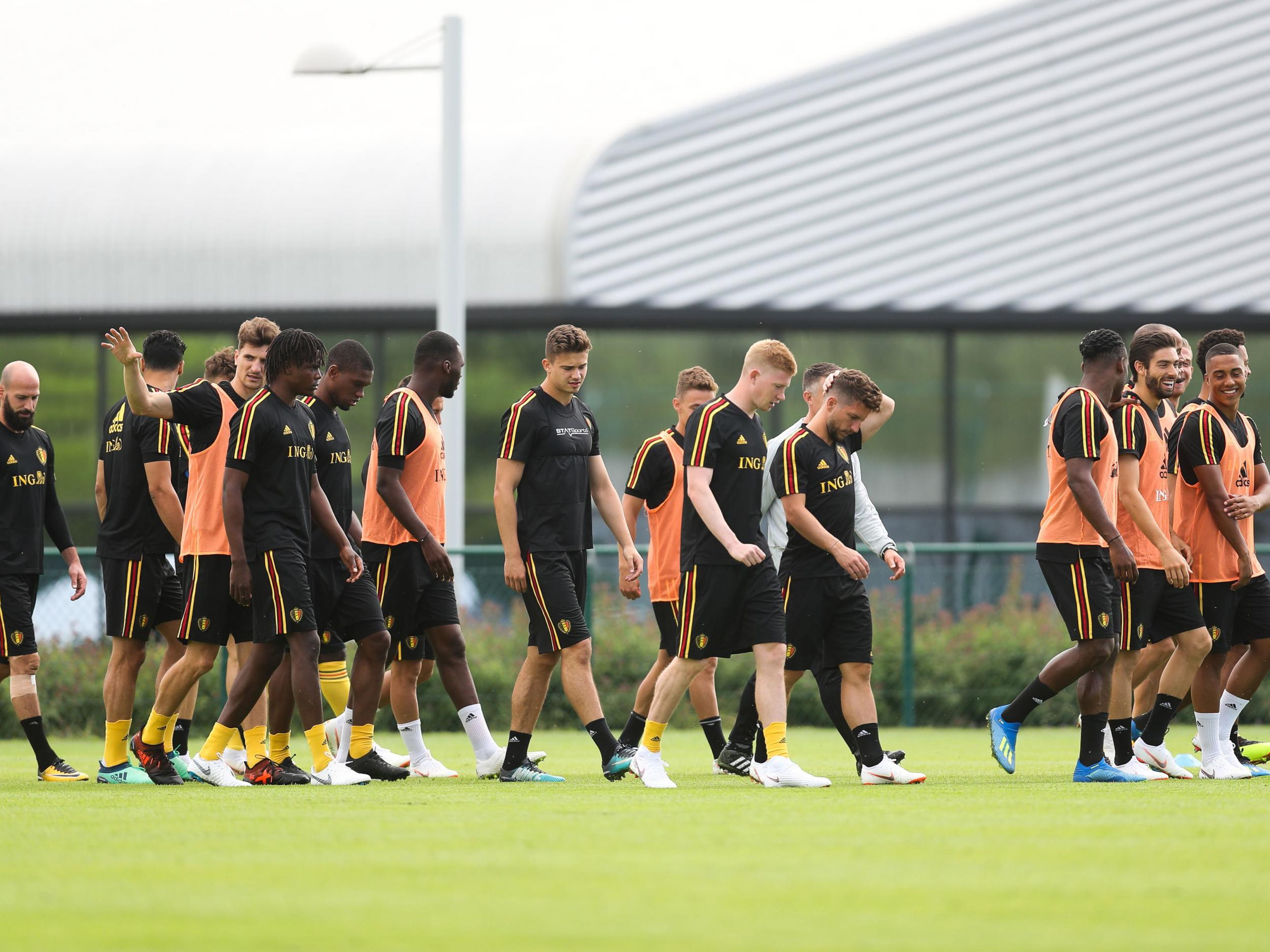World Cup 2018  Belgium accidentally reveal 23-man squad for Russia during  mattress television report  21a122567