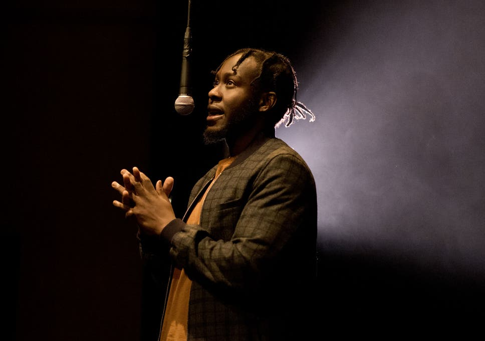 poet caleb femi was shot and almost killed as a teenager now his