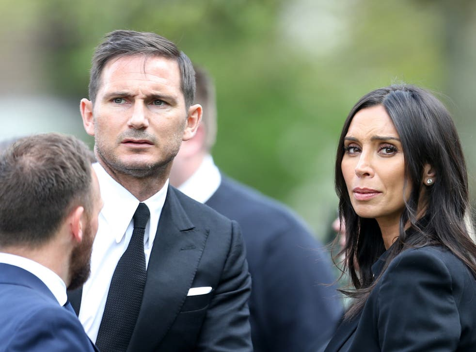 Mr Lampard told how his wife was horrified to see the stalker loitering at their front gate when he turned up unannounced at their home once