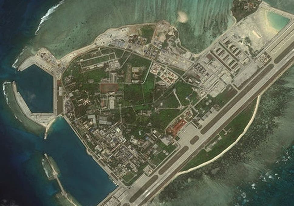China 'intimidating' neighbours with South China Sea