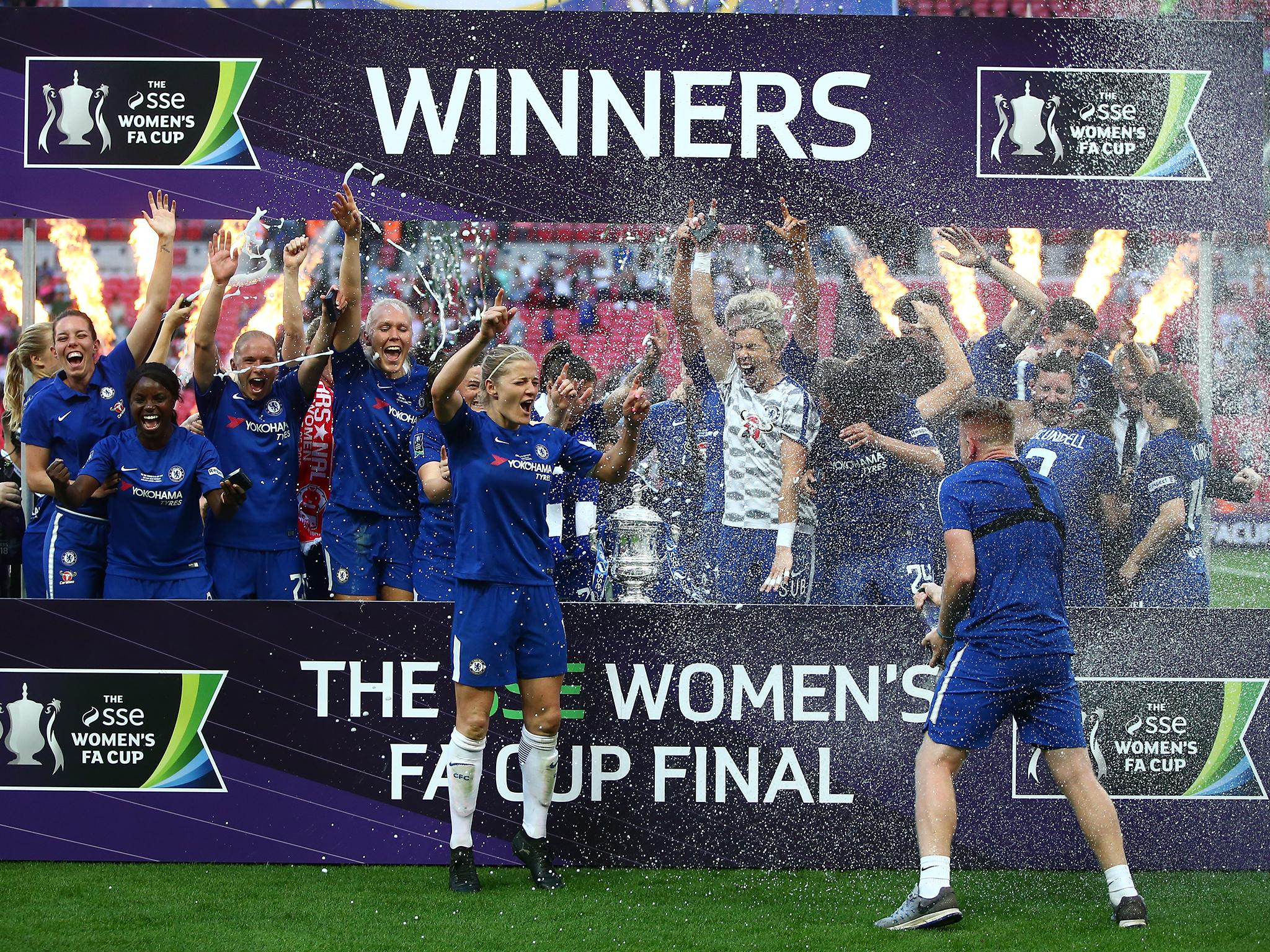 Chelsea Fc Women S Name Change Is Much More Than A Mere Nod To Gender Equality The Independent The Independent
